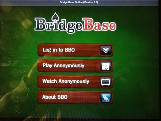 IPAD - Bridge Base Online - BBO - Fonctionne sur IPAD.