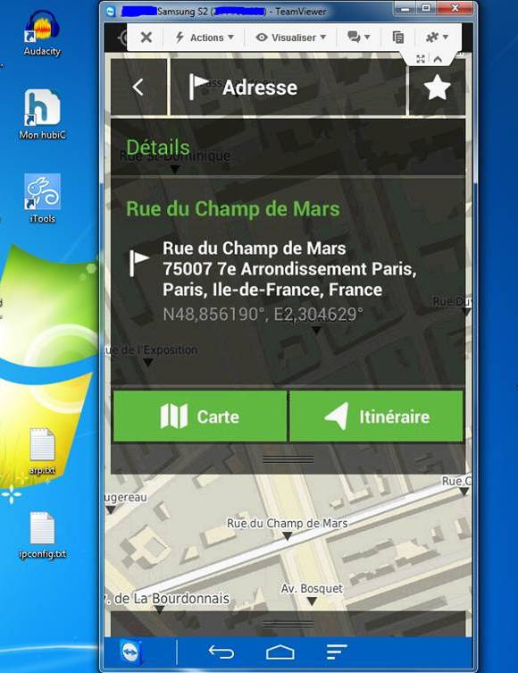 application gps pour tablette android samsung free